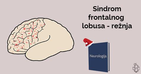 Sindrom frontalnog lobusa, rezanj, trauma, pareza, hemipareza, hemiplegija