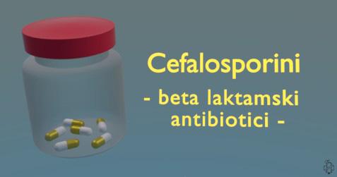 cefalosporini, antibiotici, cefaleksin
